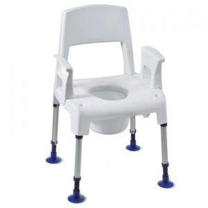 chaise pico commode invacare littoral medical