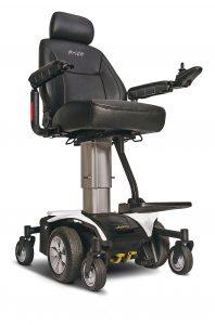 littoral médical fauteuil éléctrique JazzyAir-